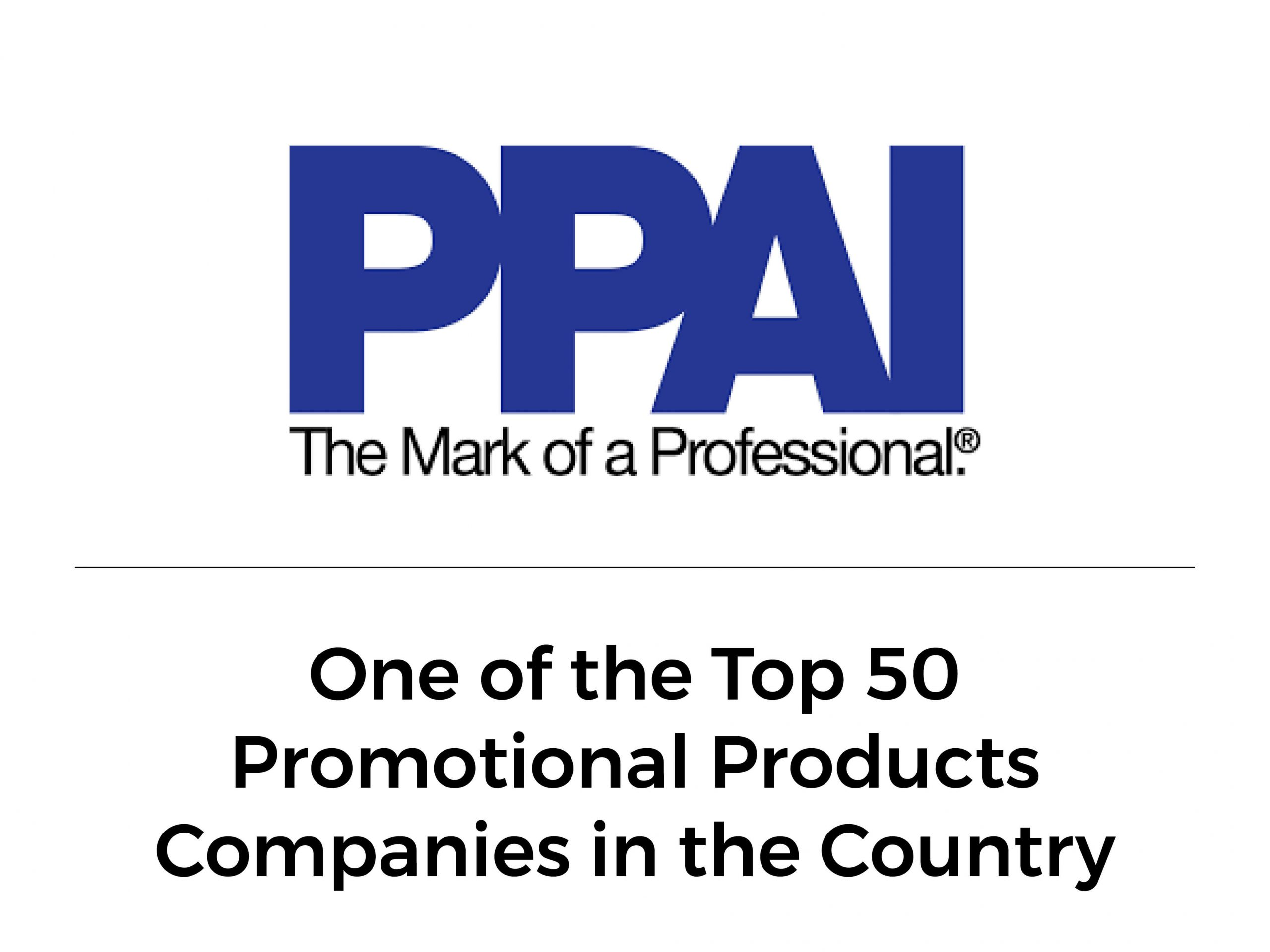 PPAI One of top 50 promotional product companies in the country