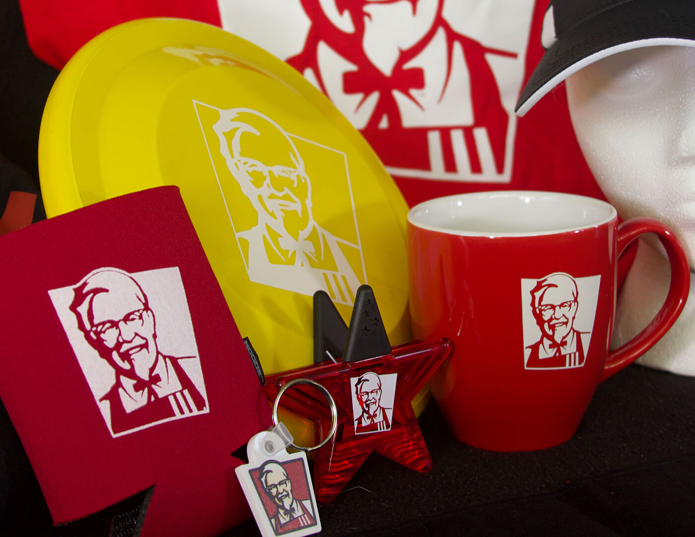 Promotions items for KFC